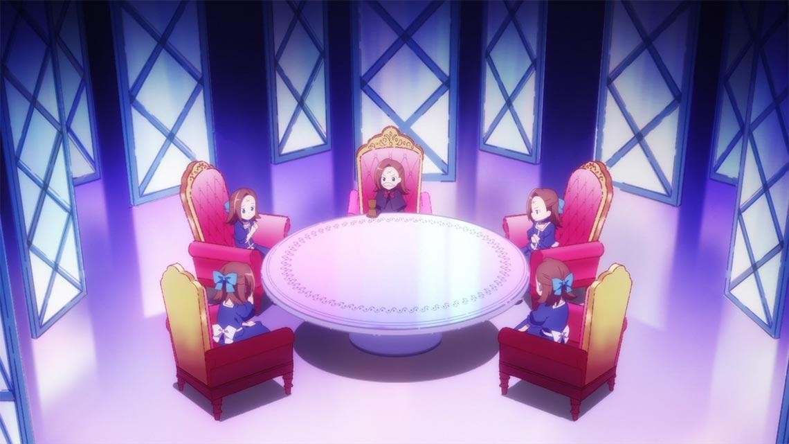 Внутренний совет (аниме мем беседы с башкой), персонаж Катарина Клаес (Katarina Claes, Бакарина)
