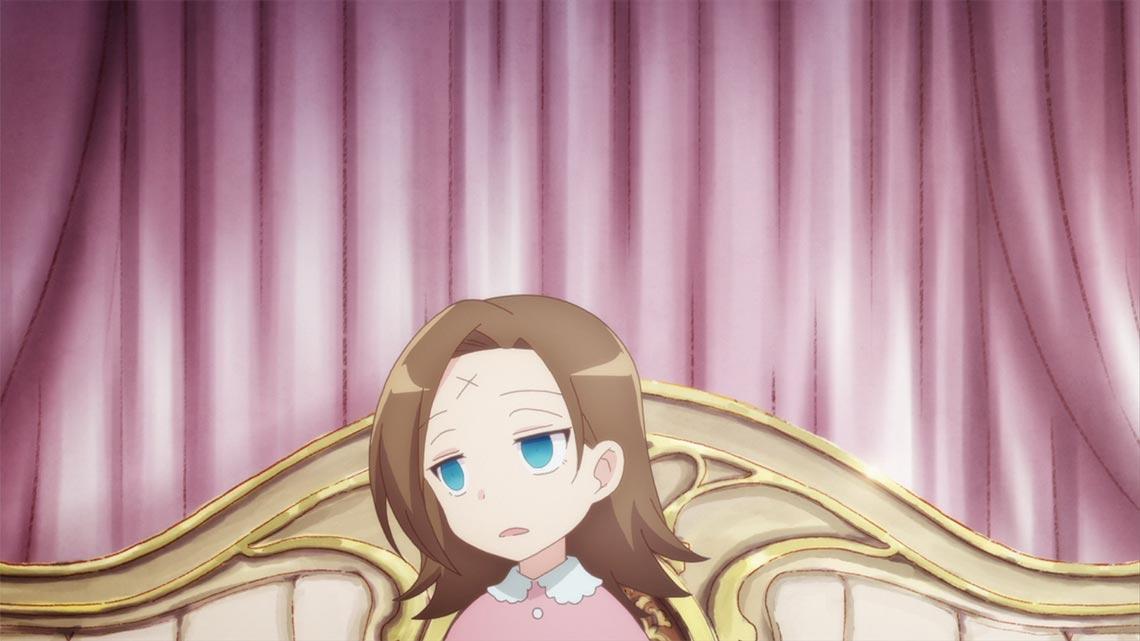 Катарина Клаес (Katarina Claes, Бакарина) - главная героиня аниме сериала Моя реинкарнация в отомэ-игре в качестве главной злодейки (фон для рабочего стола)