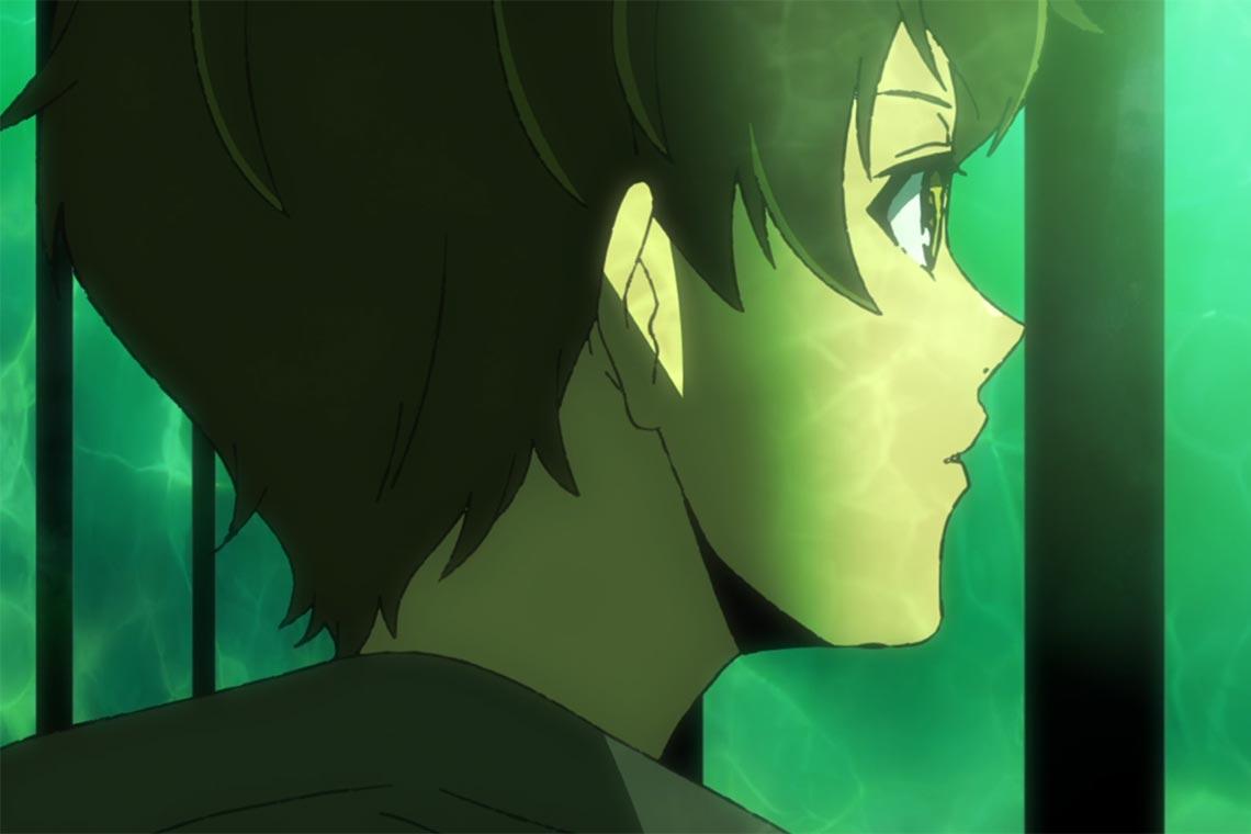 """Первые впечатления от 1 серии аниме """"Башня бога"""" (Kami no Tou, Tower of God), плюсы, минусы и главнй герой (Баам) на картинке"""