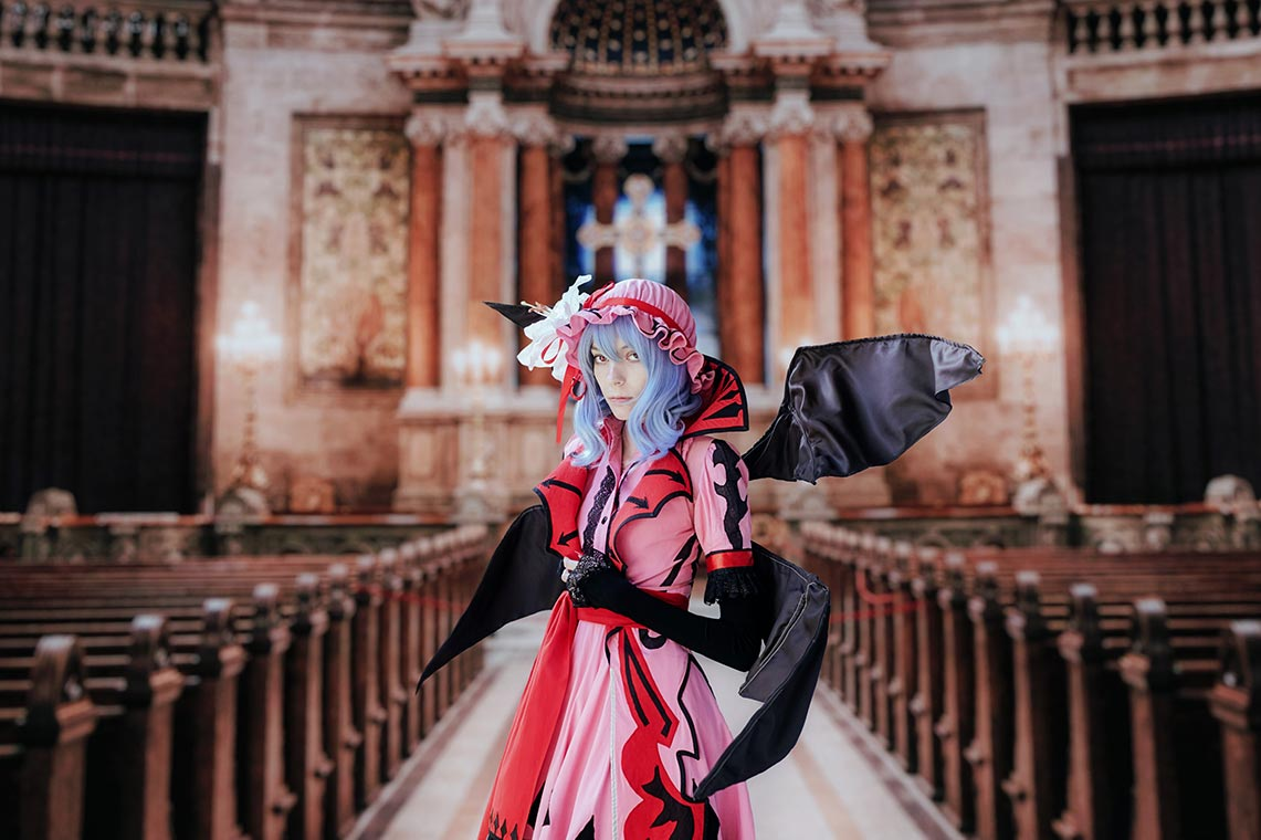 Cosplay Remilia Scarlet photo by Kitty Strife