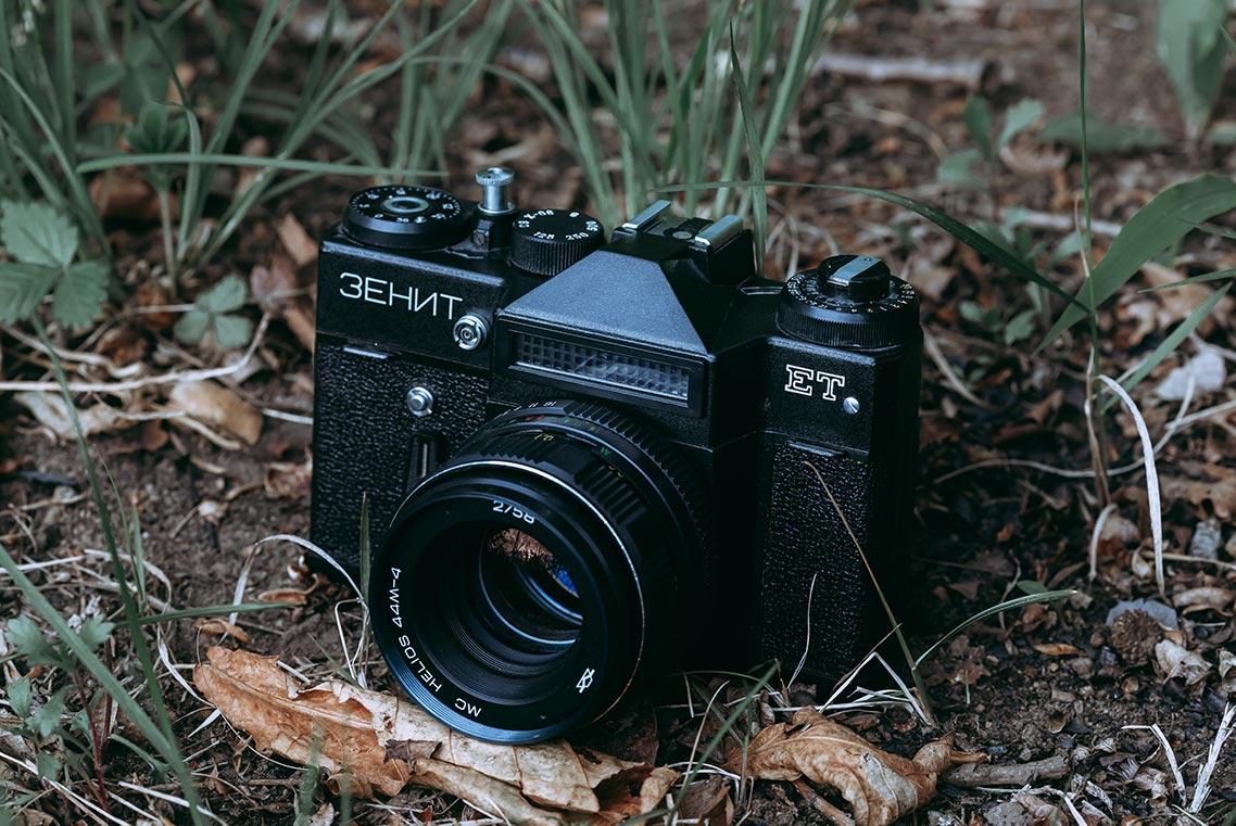 Бесплатная стоковая подборка ретро фото для инстаграм с Зенит-ЕТ от фотографа Олега Мороза