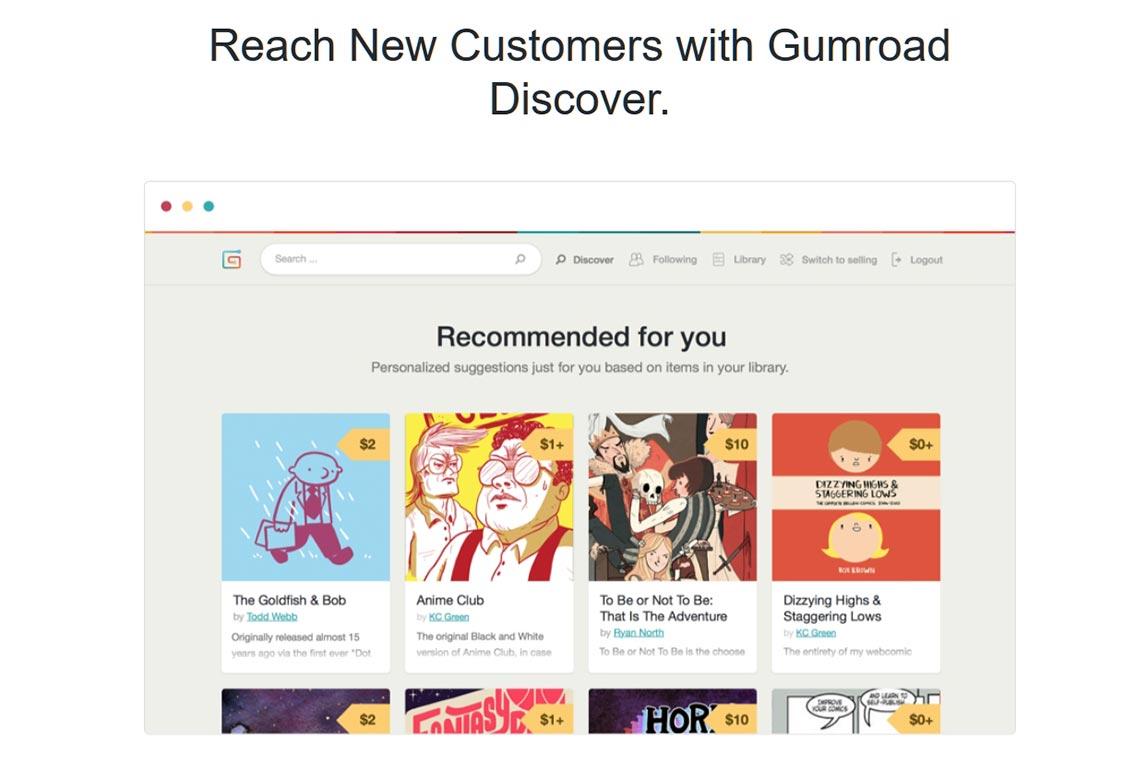 Что такое Gumroad Discover? Подробное описание особенностей и возможностей в 2020 году.