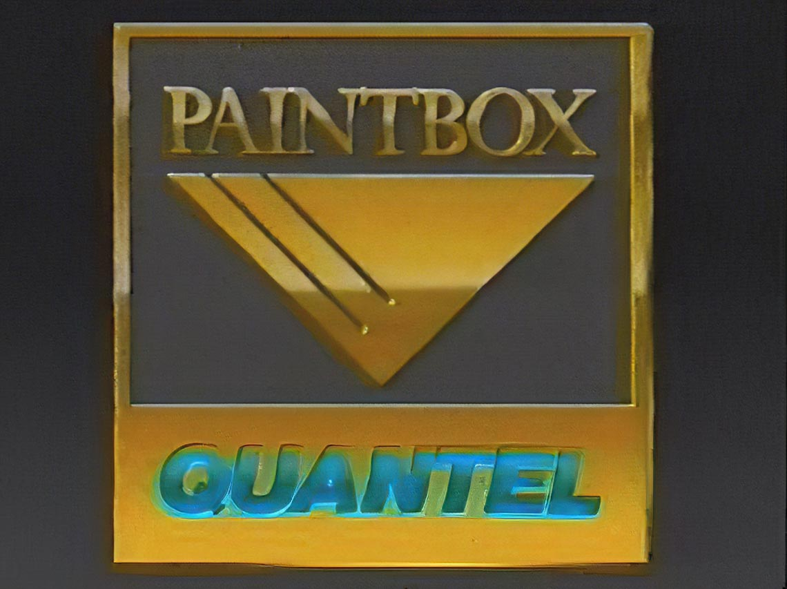 HD логотип Quantel Paintbox