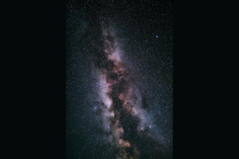 Галактика Млечный Путь в Приморье (автор - фотограф Олег Мороз)