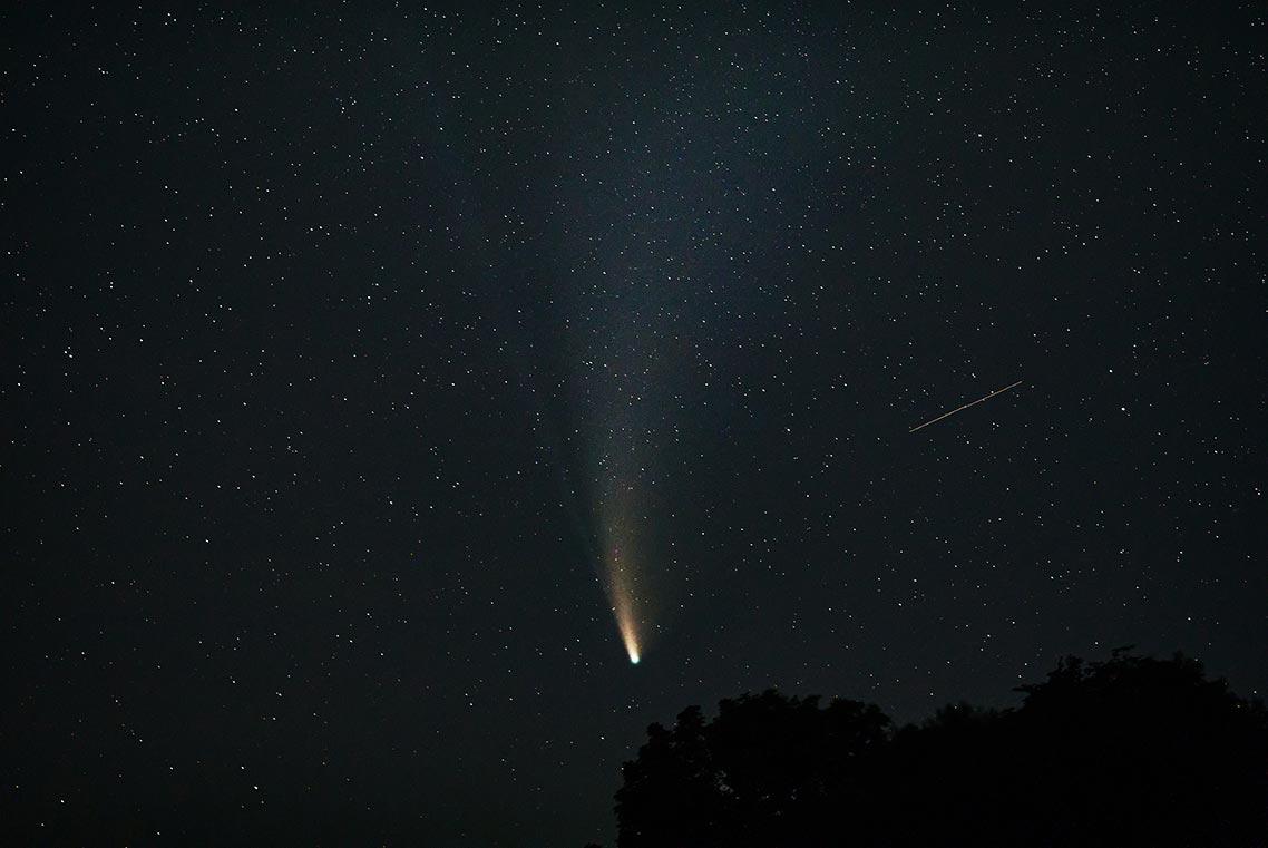 Где искать комету NEOWISE в Приморье и на Дальнем Востоке в конце июля - начале августа 2020 года
