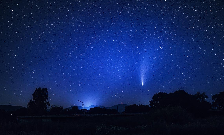 Где фотографировать комету NEOWISE
