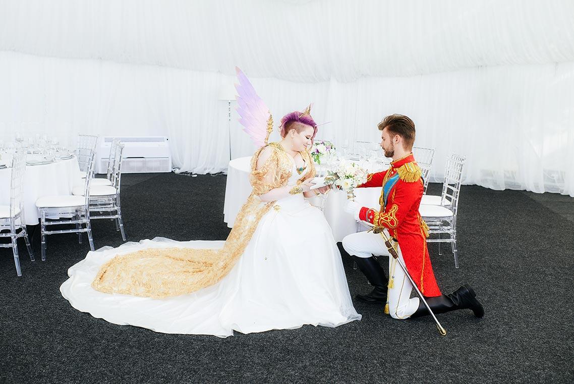 Свадебная косплей фотосессия город Владивосток