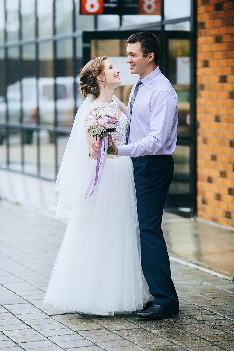 Свадебная фотосессия под дождём в Находке