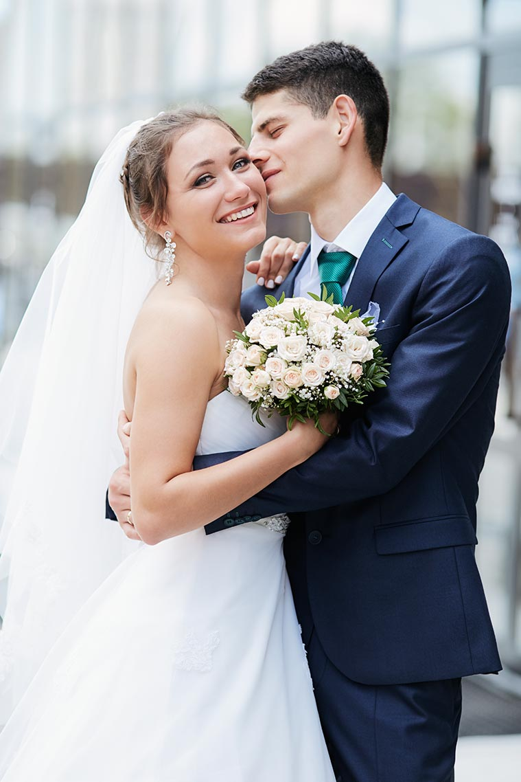 Свадебная фотосессия на улице в Находке
