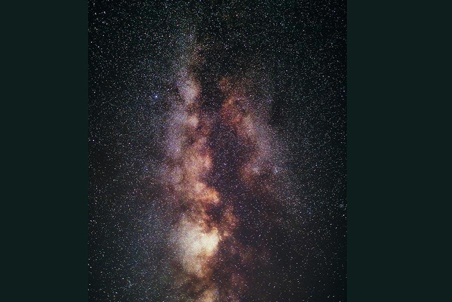 Как уменьшить шум на фото со звёздным небом в Adobe Photoshop 2020