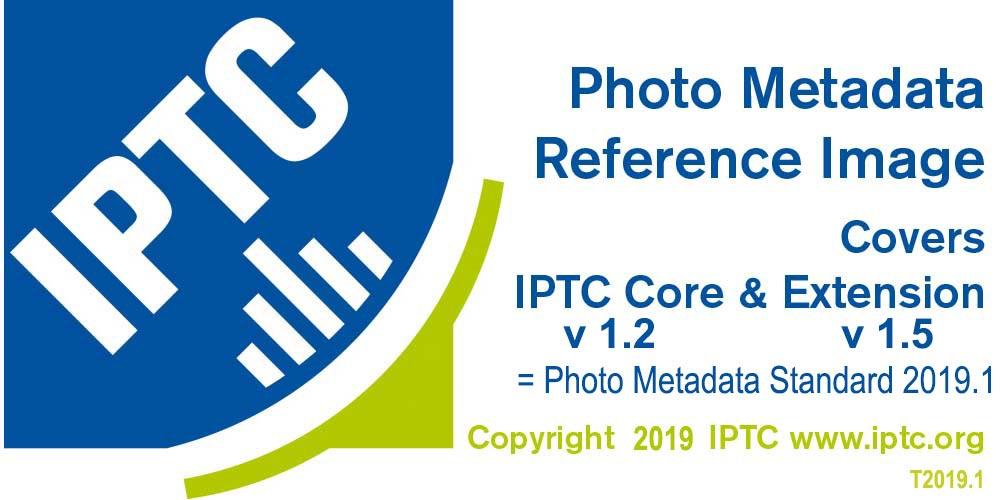 Образец IPTC Photo Metadata Standard 2019.1 с заполненными метаданными