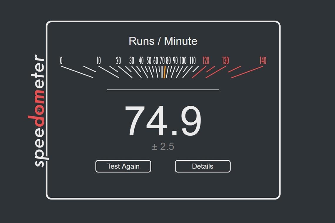 Насколько быстрее (или медленнее) работает Chrome на ПК, чем Firefox или Edge? Тест Speedometer в августе 2020 года