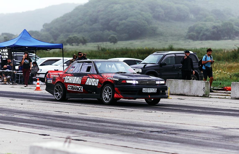 Стильные гоночные машины в Приморском крае