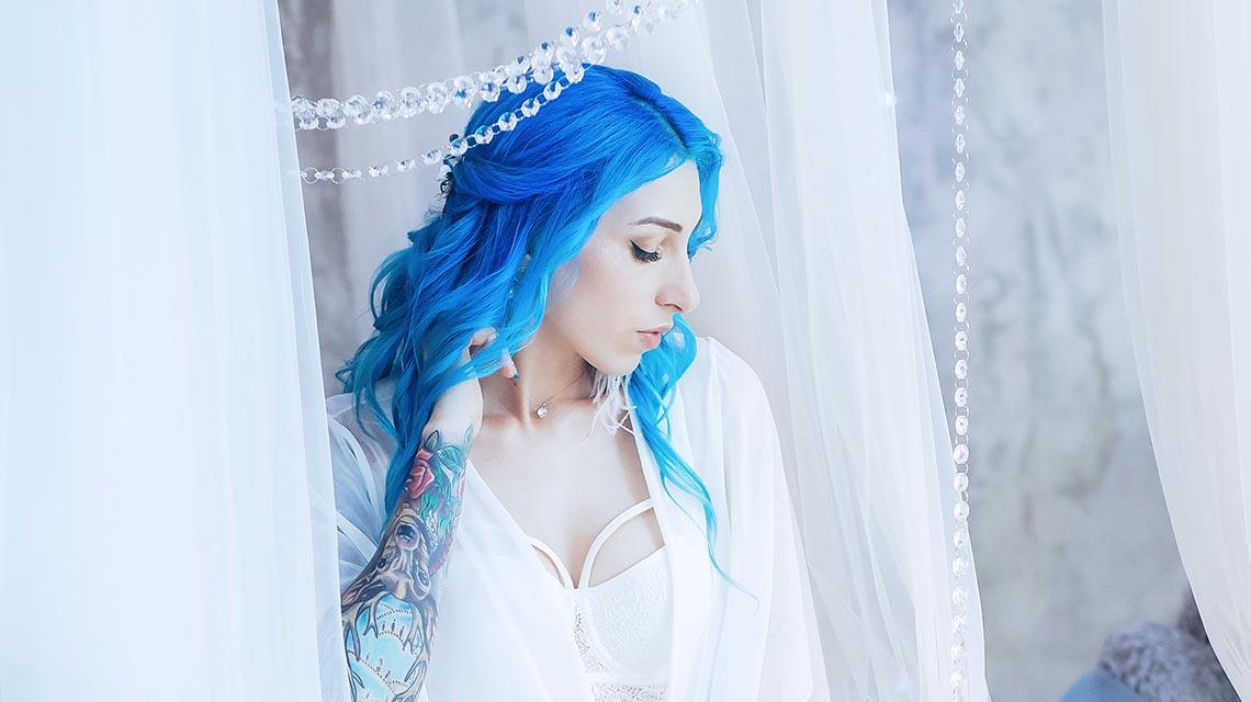 Будуарная съёмка для невесты в Находке