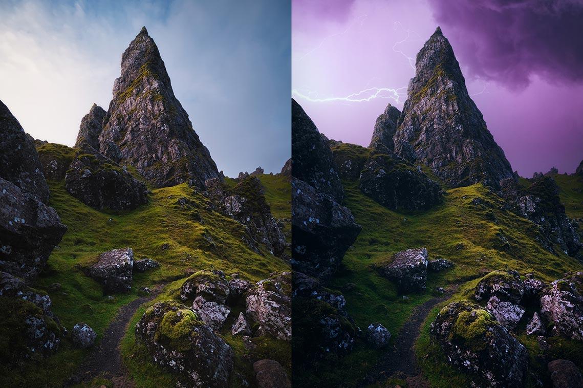 Автоматическая замена неба в Adobe Photoshop 2021