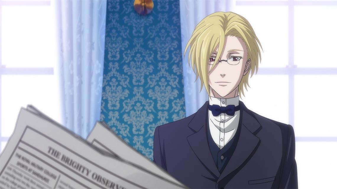 Льюис Джеймс Мориарти из 1 серии аниме Yuukoku no Moriarty