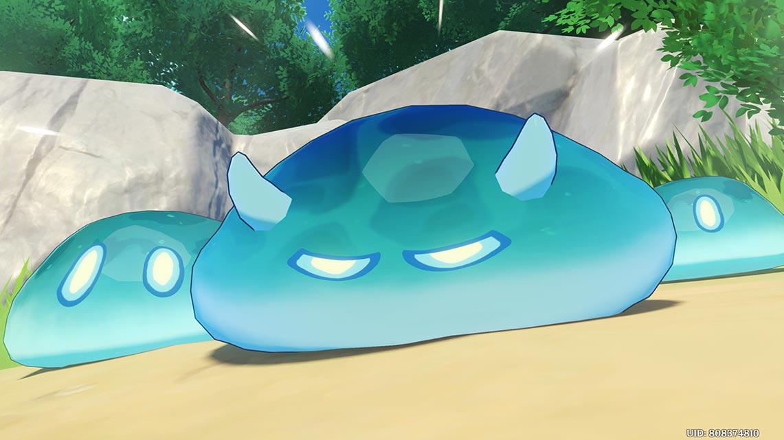 Пример сайд-квеста в Genshin Impact (кадр из игры)
