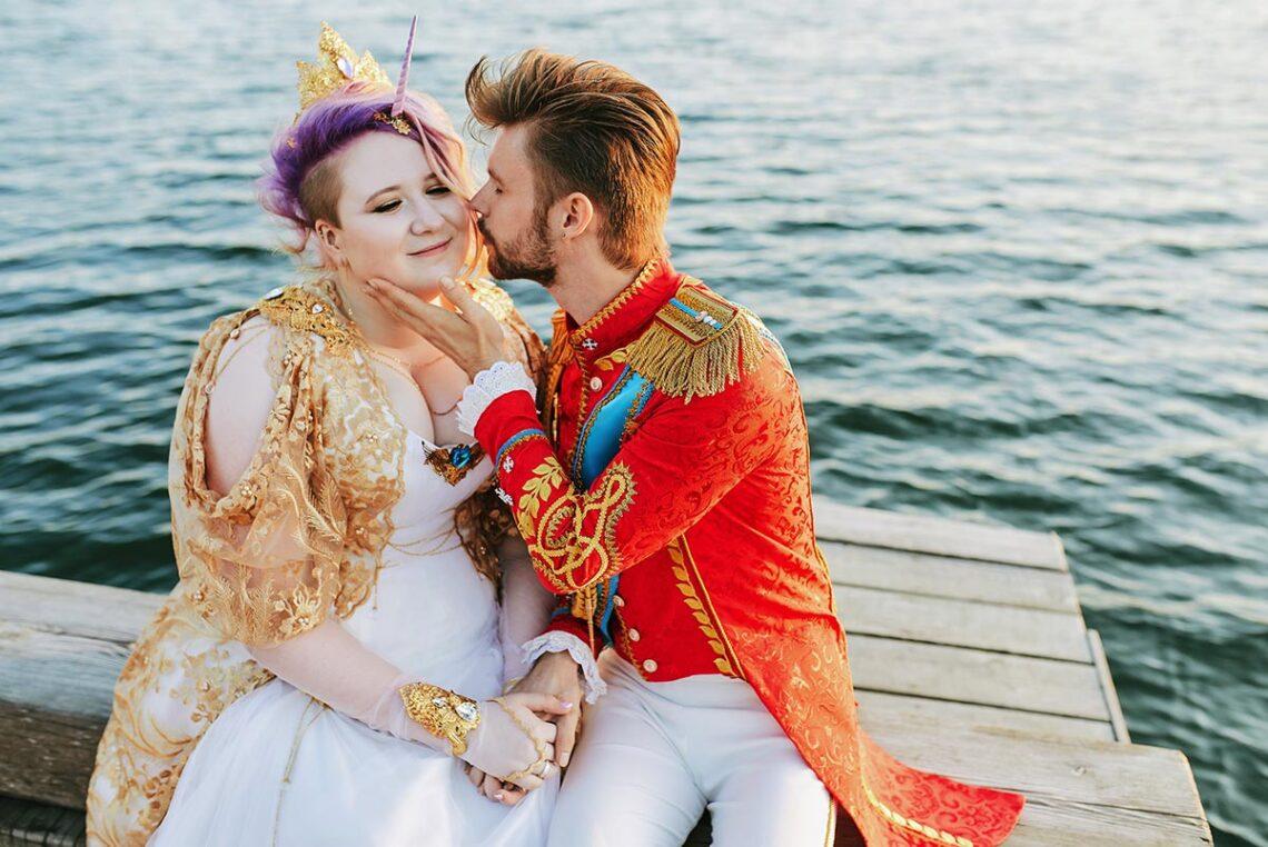 Свадебная съёмка у моря в Находке