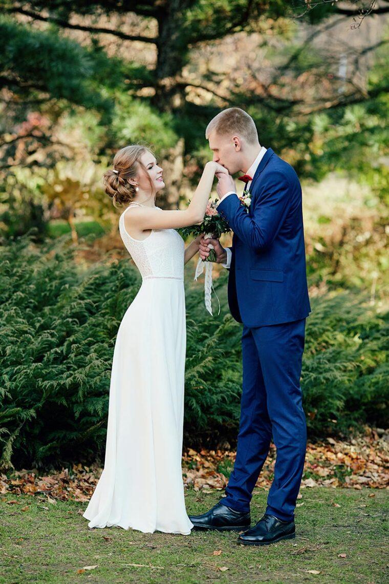 Свадебный фотограф в городе Находке - пример съёмки в парке