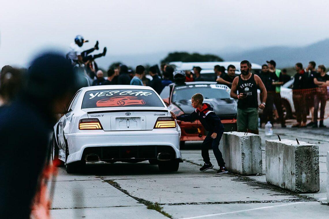 Съёмка спортивных и гоночных мероприятий в Находке
