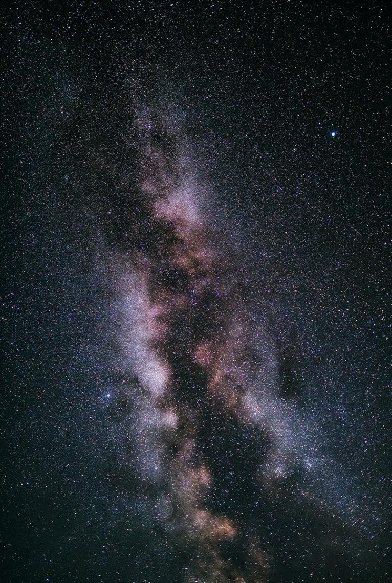 Фотография галактики Млечный Путь, 2020 год (фотограф Олег Мороз)