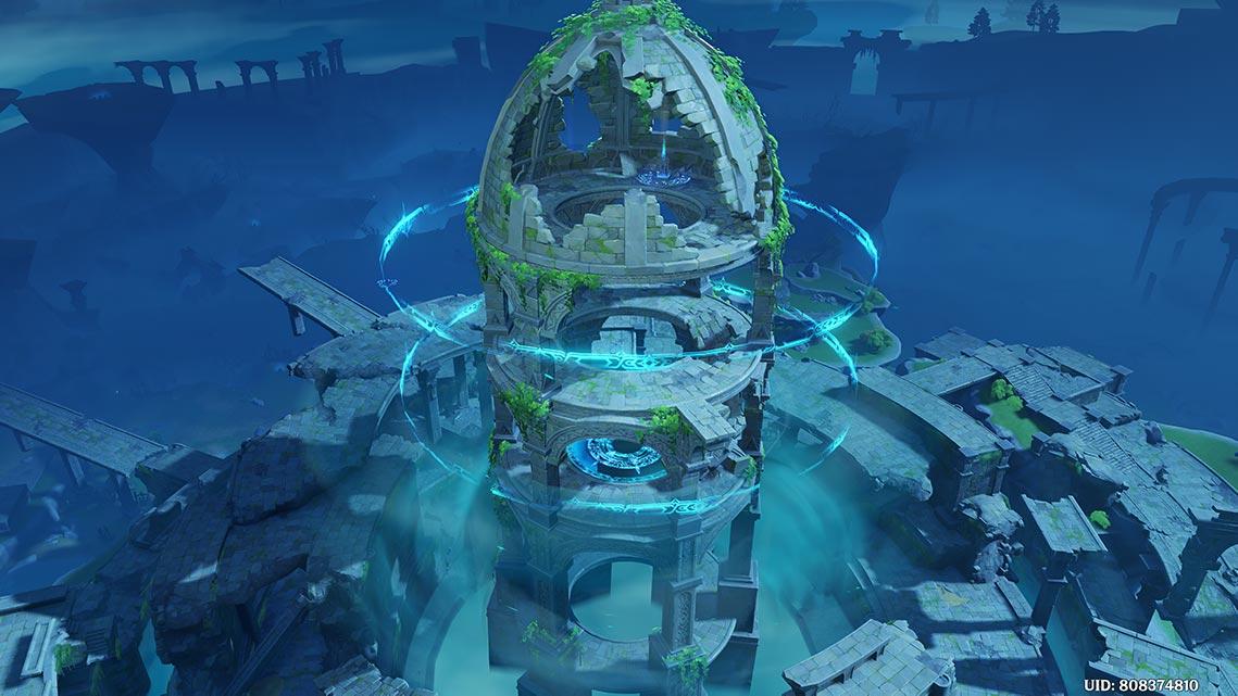 Храм Ужаса Бури в Genshin Impact