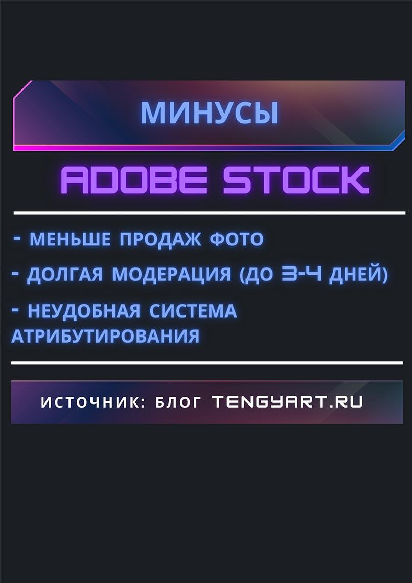 Минусы Adobe Stock в конце 2020 года