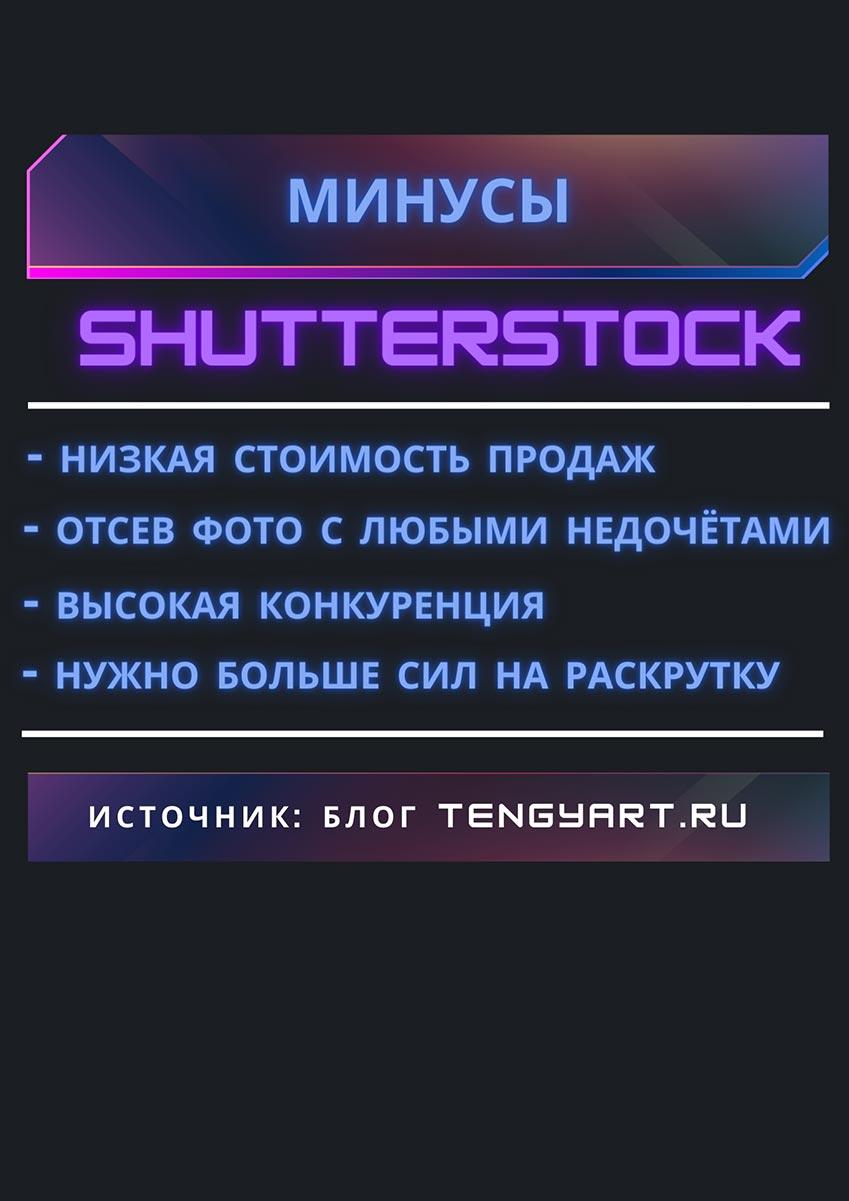 Минусы Shutterstock в 2020 году