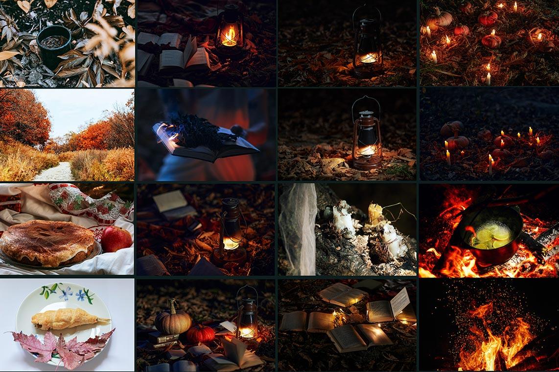 Осенние картинки для соцсетей, фотошопа и дизайна (часть 1)
