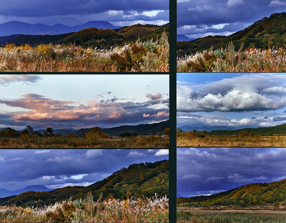 Осенние пейзажи Приморского края (Золотой Долины) купить онлайн