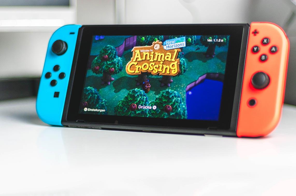 Animal Crossing - самая популярная игра на приставке Nintendo Switch во 2 квартале 2020