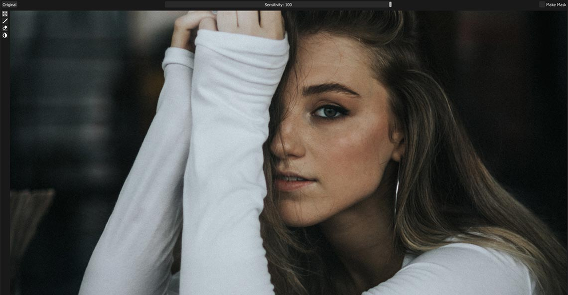 Минусы приложения Retouch4me Heal на примере портретной фотографии