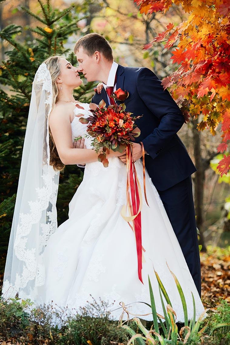 Осенняя свадьба в Находке