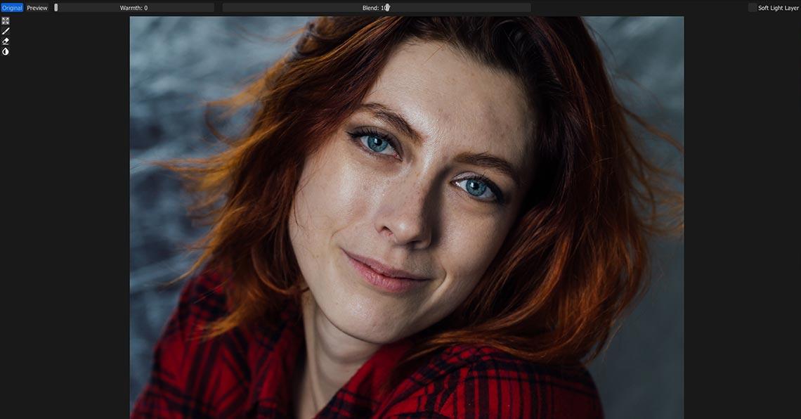 Тестовый образец фото для ретуши в retouch4me