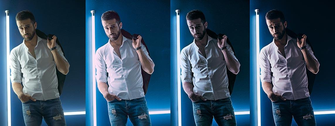 Неоновые стили и инстаграмные фильтры для студийных фотосессий | Neon styles and instagram filters for capture one 20 and studio photoshoot