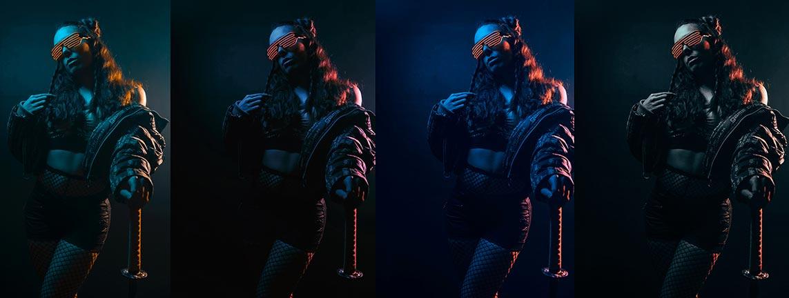 Пресеты для обработки неоновых фотосессий (Neon vibe presets Capture One 20 for photo editing)