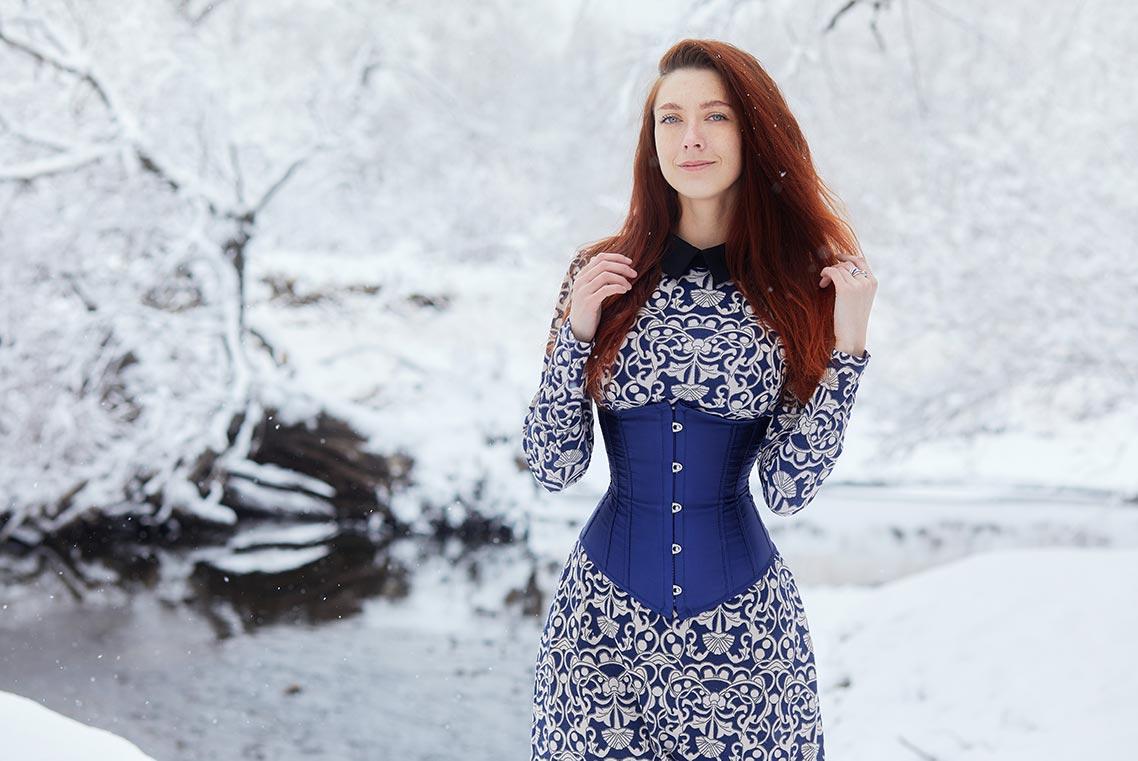Зимняя фотосессия в Золотой Долине