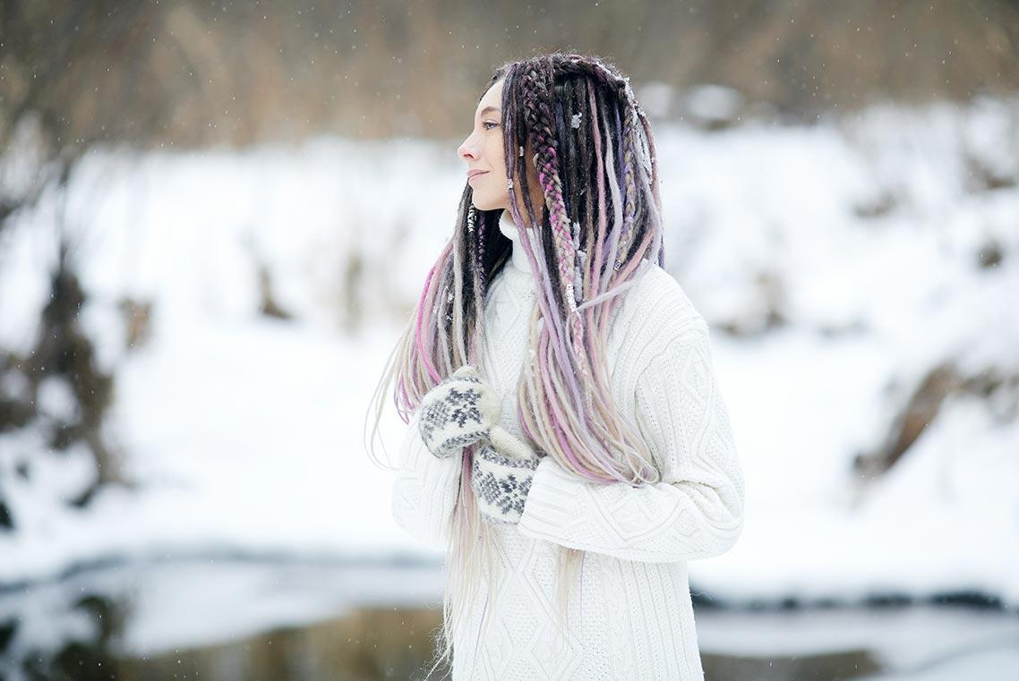 Фотосессия в Находке во время снегопада