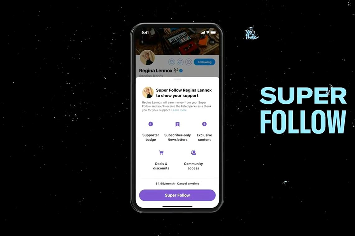 "Super Follow (""Суперподписки"") в Twitter"