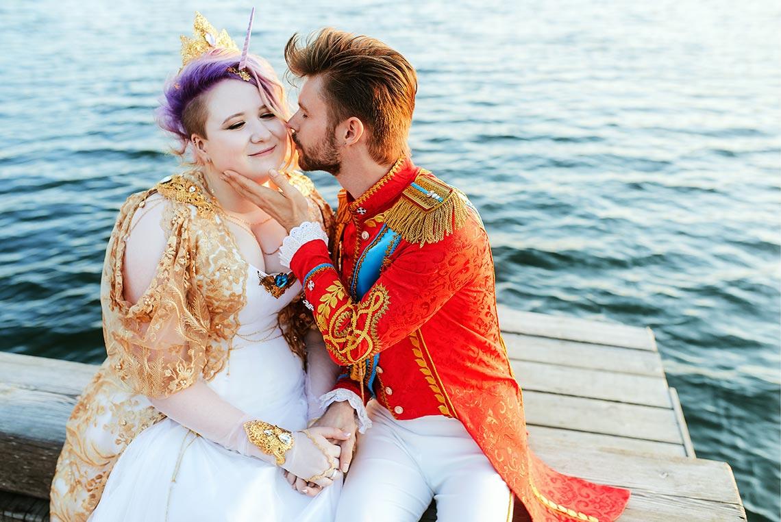 Свадебная фотосессия у моря во Владивостоке