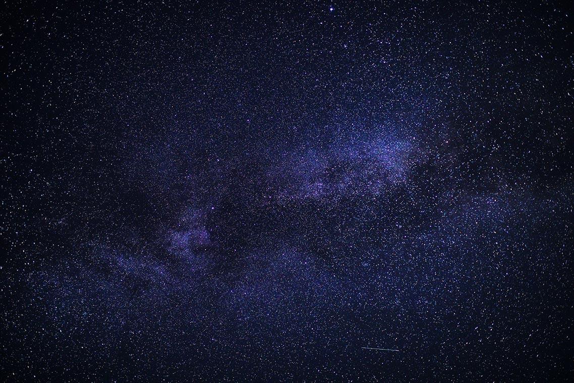 Млечный Путь на ночном небе