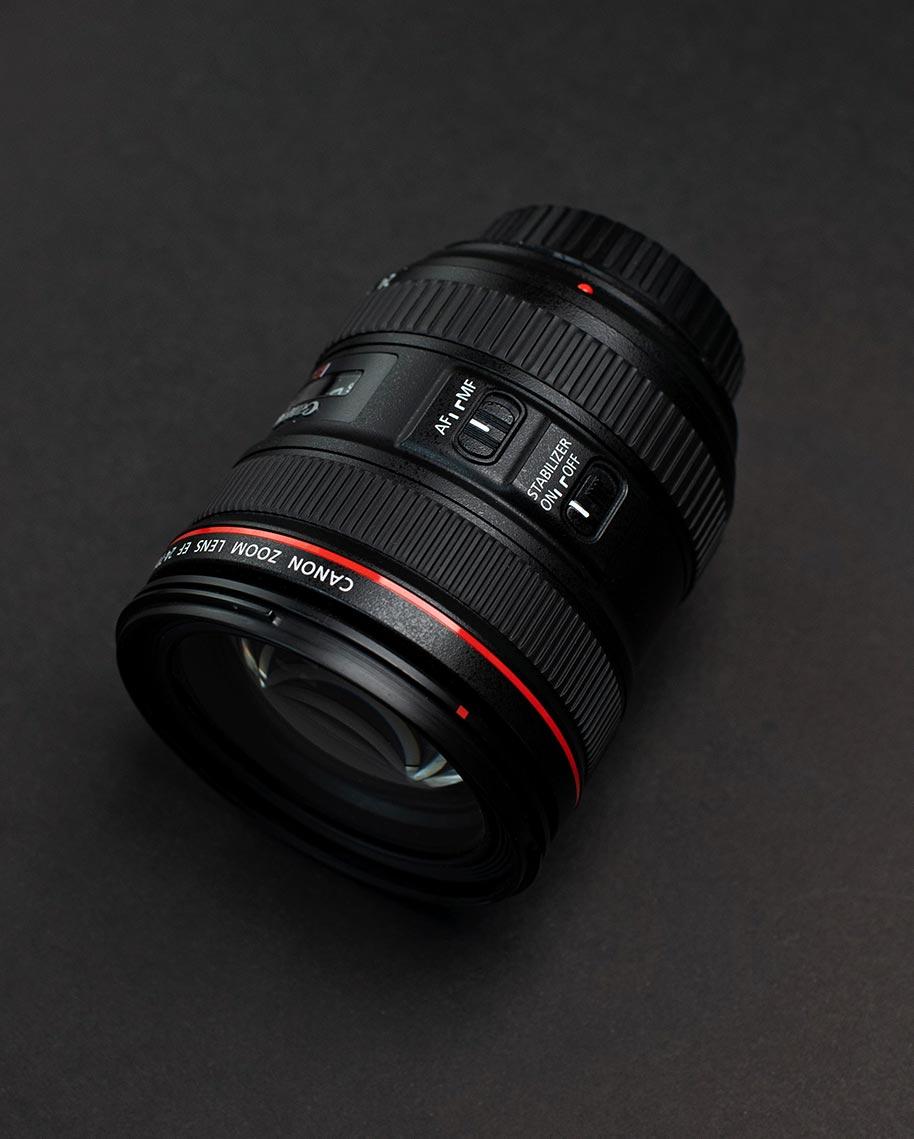Переключатель AF MF у объектива Canon