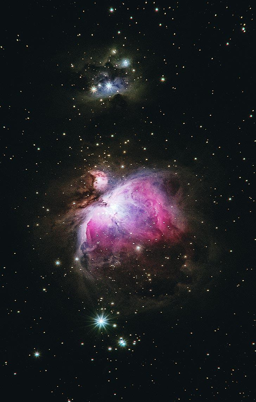 Фотосъёмка туманности с помощью телескопа