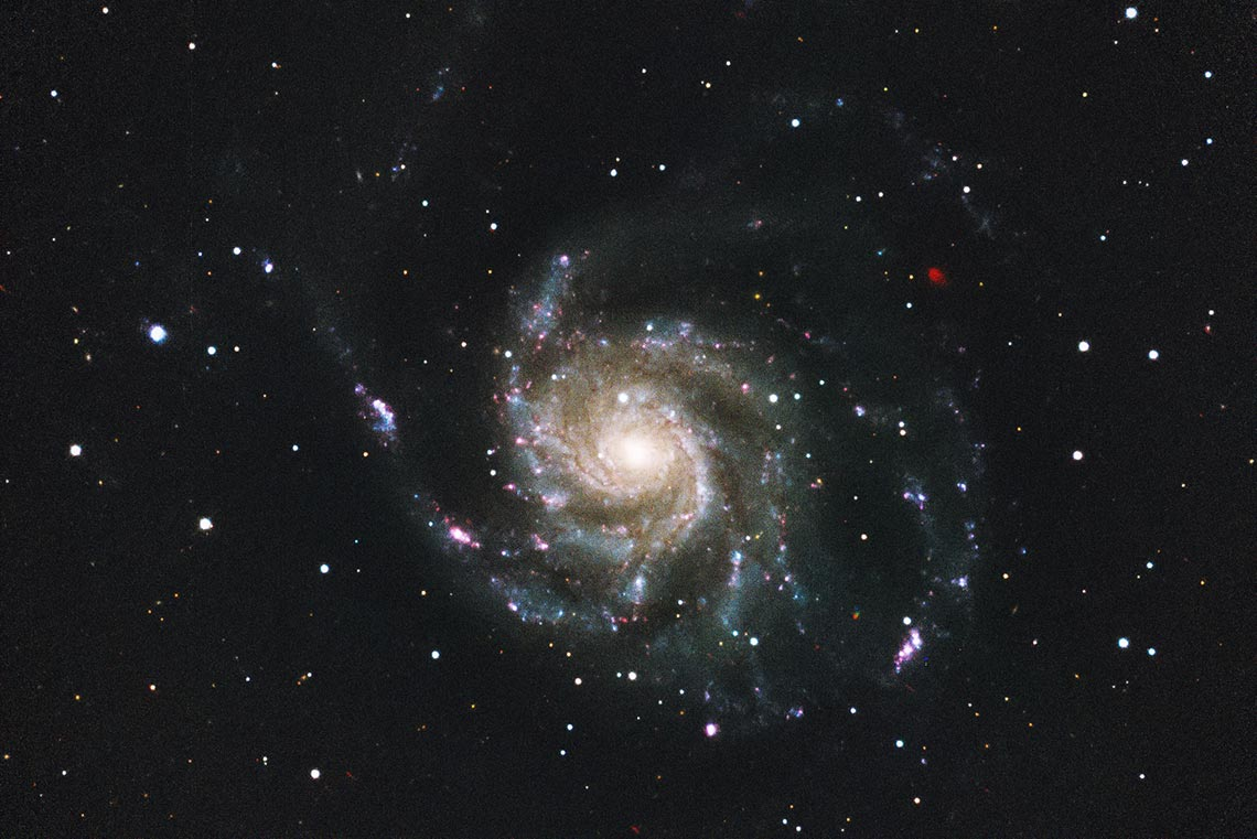 Pinwheel Galaxy (Галактика Вертушка) - HD фон