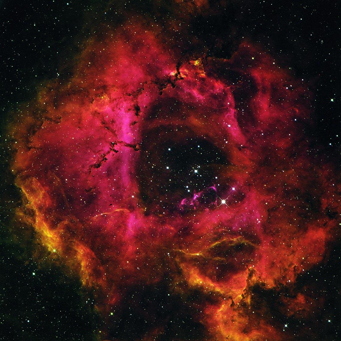 "Rosette nebula (туманность Розетка или ""Розочка""), автор Tengyart"
