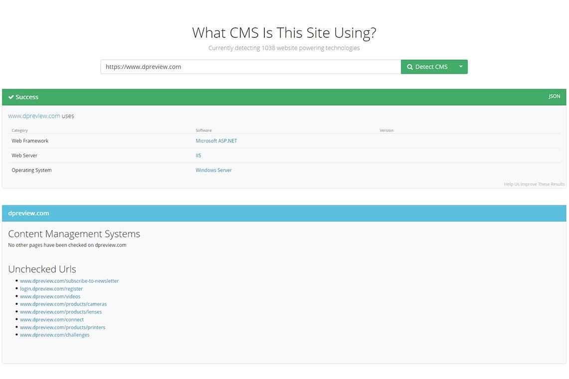 Как определить CMS сайта онлайн с помощью whatcms (инструкция)