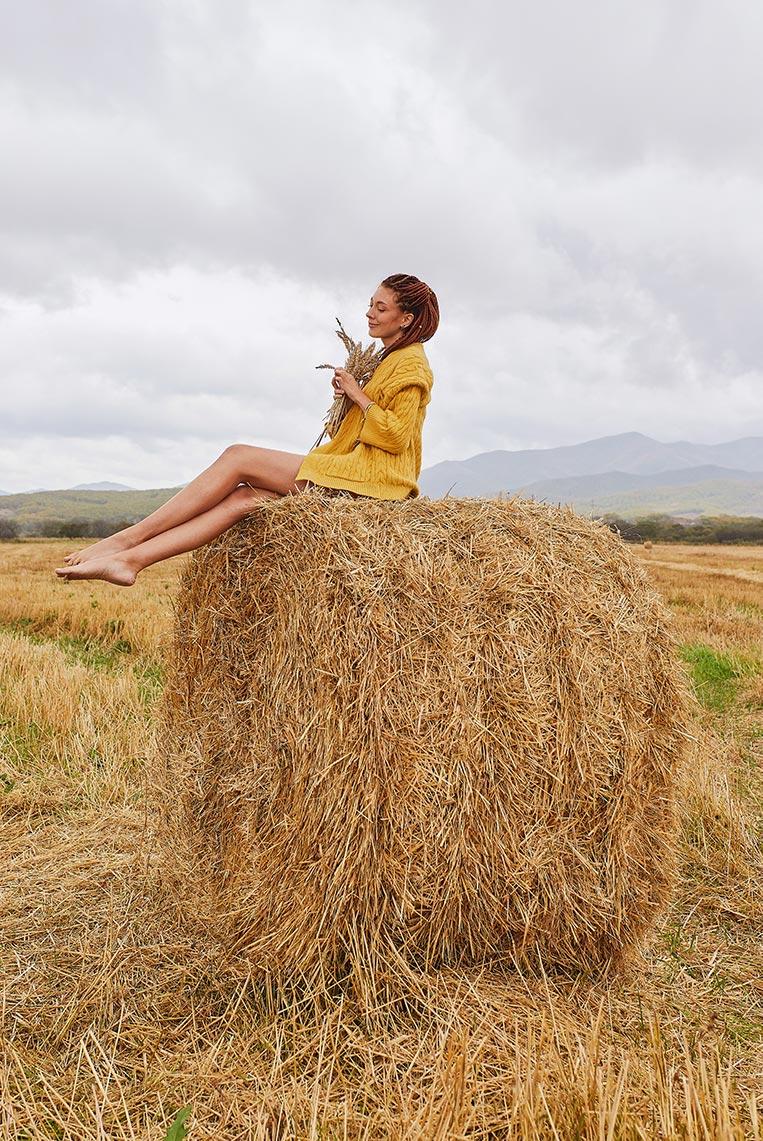 Осеняя фотосъёмка с девушкой в Золотой Долине