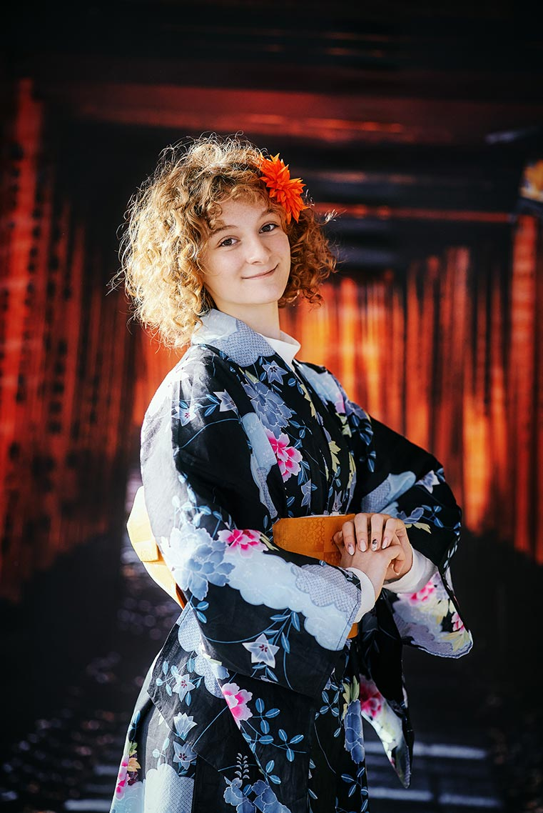 Фотосессия для девушки в кимоно (в образе гейши) в Находке
