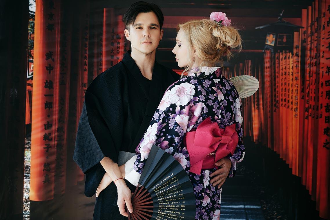 Фотосессии для влюблённых в японском саду Энси (Находка)