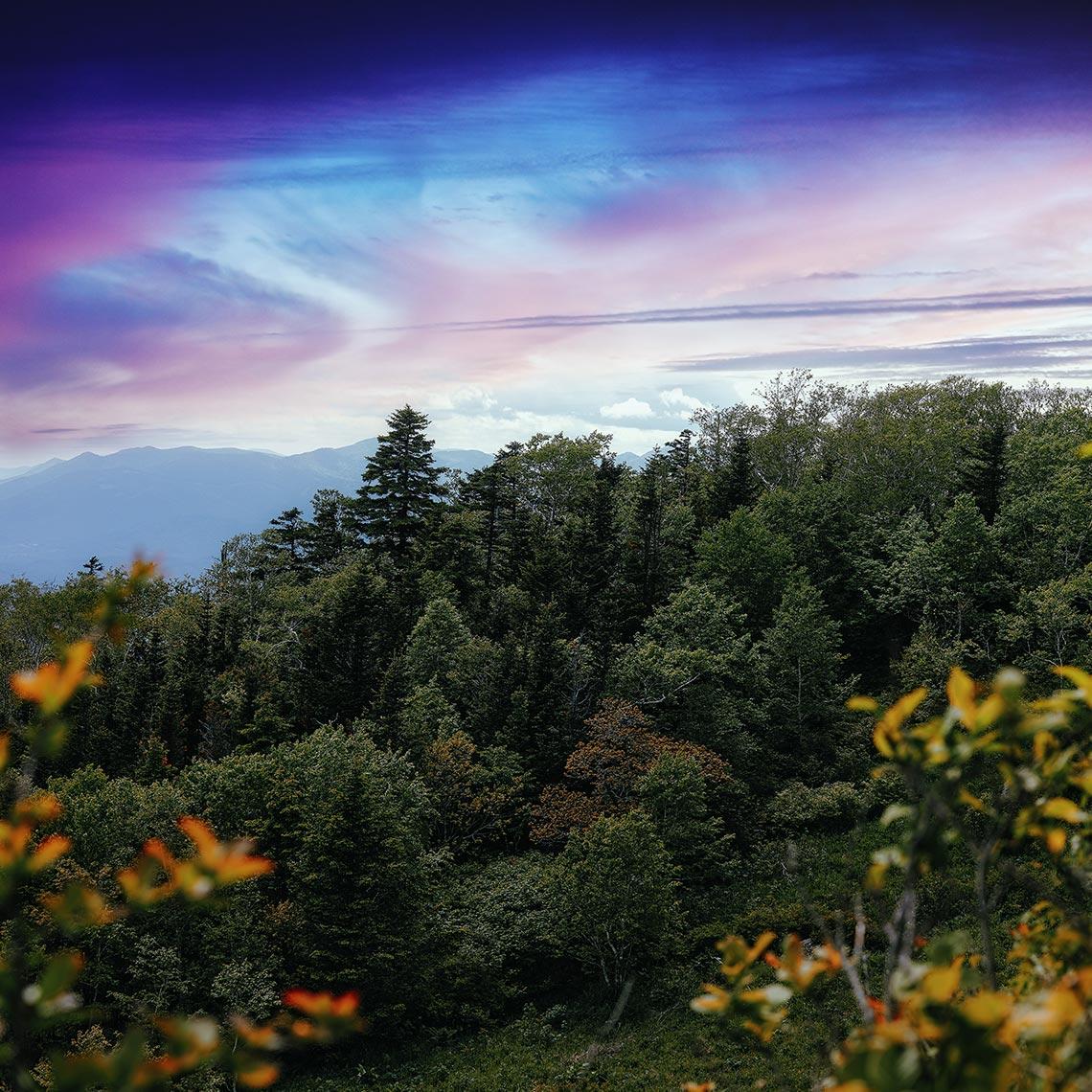 Гора Макариха, фотография на рассвете
